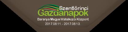 Szentlőrinci Gazdanapok - Mezőgazdasági és élelmiszeripari szakkiállítás és vásár